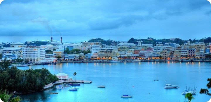 R Hamilton Harbour Bermuda