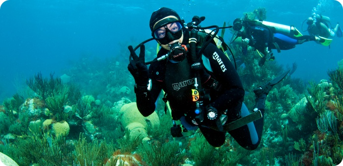 scuba in bermuda by sergey