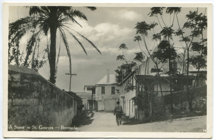 A street in St Georges, circa 1940