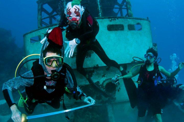 Bermuda Underwater Halloween by Sergey Goncharov (1)