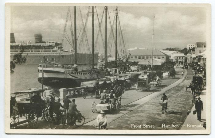 Front Street, Hamilton, circa 1930