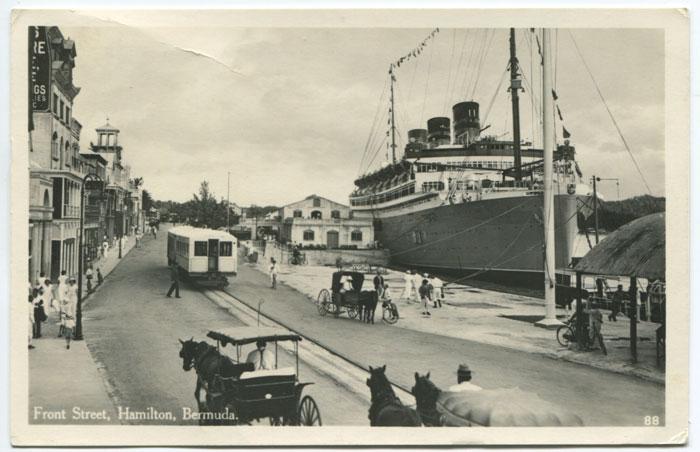 Front Street, Hamilton, circa 1934