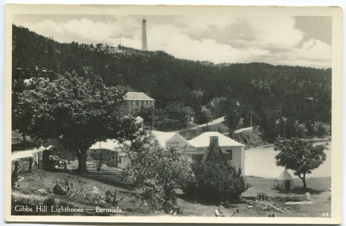 Gibbs Hill Lighthouse, circa 1940