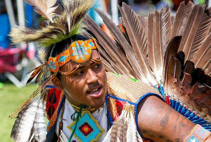 Native American Pow Wow in Bermuda