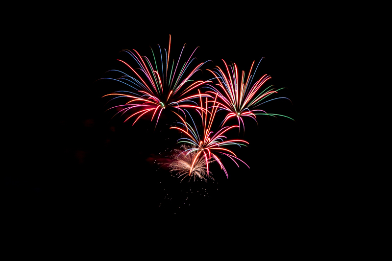 Norwegian Breakaway Cruise Fireworks In Dockyard Bermuda, July 4 2013- (3)