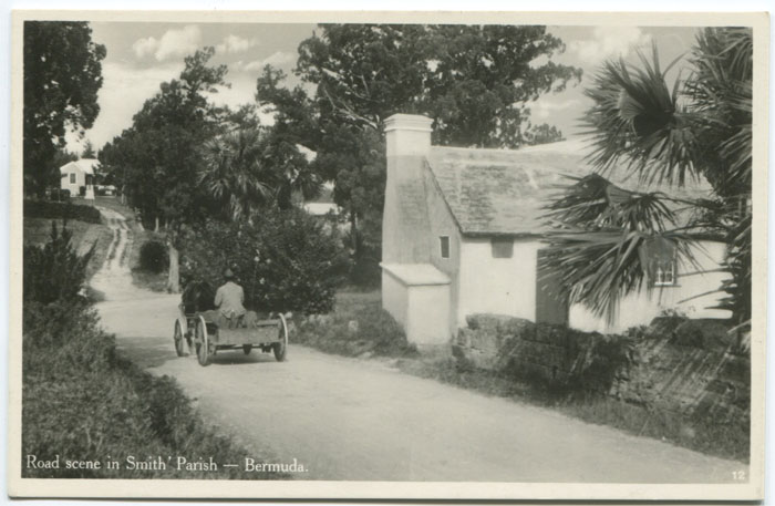Road in Smith parish, circa 1940