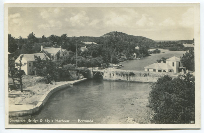 Somerset Bridge & Elys harbour, circa 1930