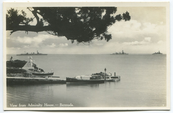 View from Admiralty House, circa 1940