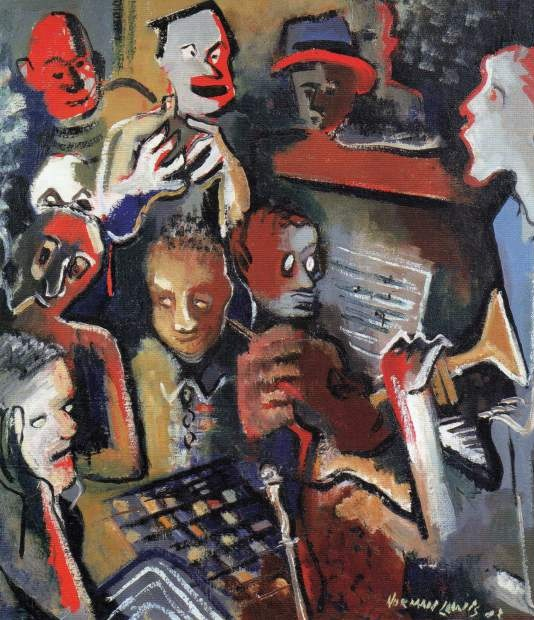 Jazz Norma Lewis Painting