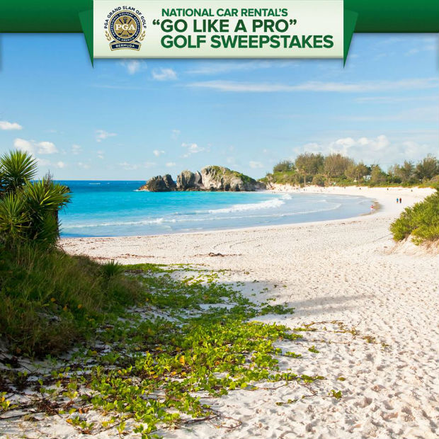 free trip to PGA Grand Slam in Bermuda 2014