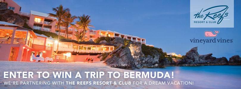 vineyard free trip to the Reefs Bermuda