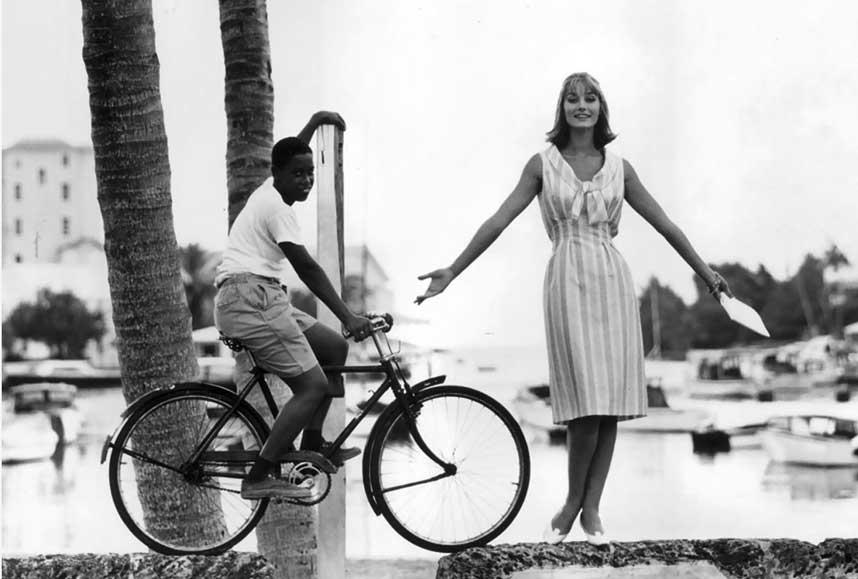 #ThrowbackThursday: Bond Girl In Bermuda