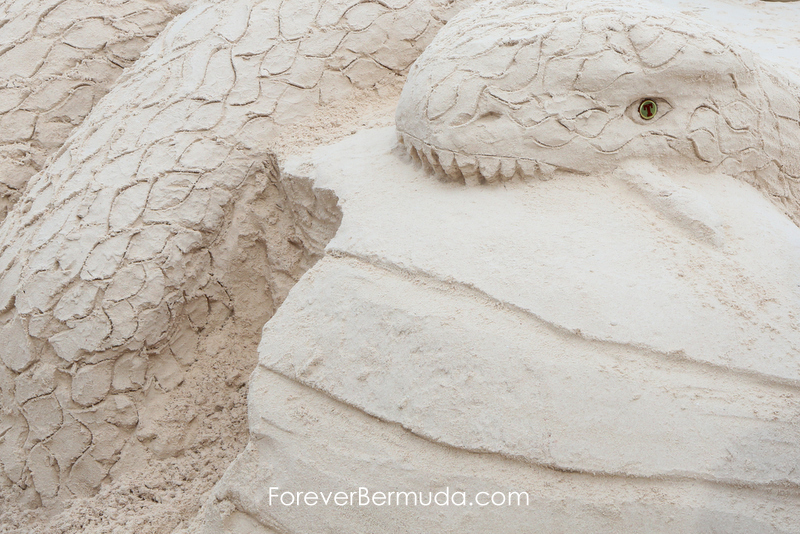 Sand Sculpture Competition Horseshoe Bay Beach Bermuda, September 5 2015-31