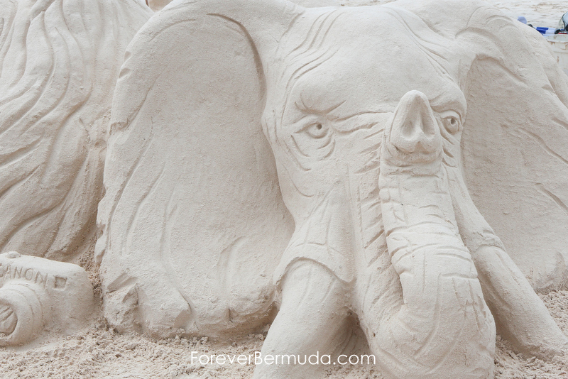 Sand Sculpture Competition Horseshoe Bay Beach Bermuda, September 5 2015-47