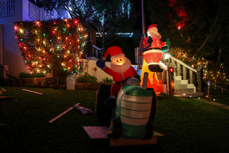 Christmas Lights Decorations Bermuda, December 23 2015-232