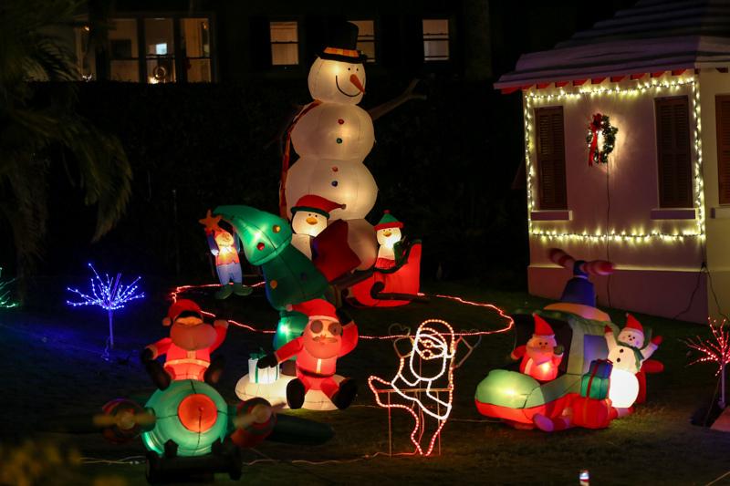 Christmas Lights Decorations Bermuda, December 23 2015-65