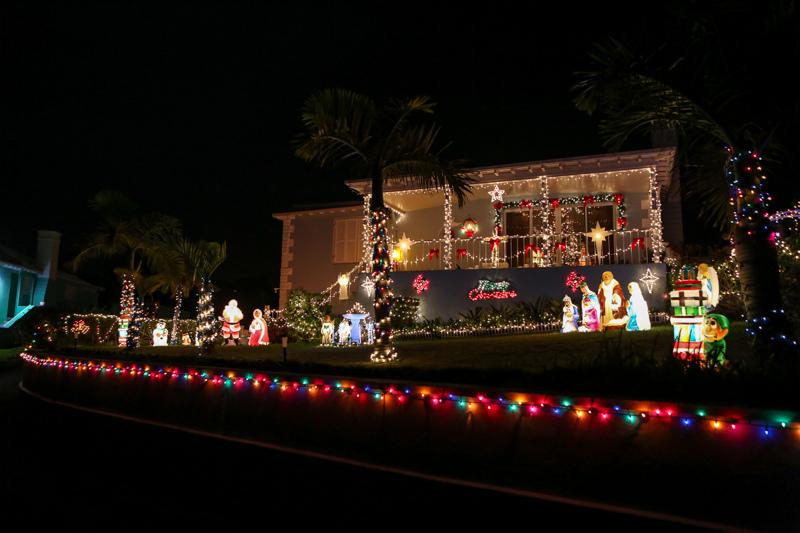 Christmas Lights Decorations Bermuda, December 23 2015-99