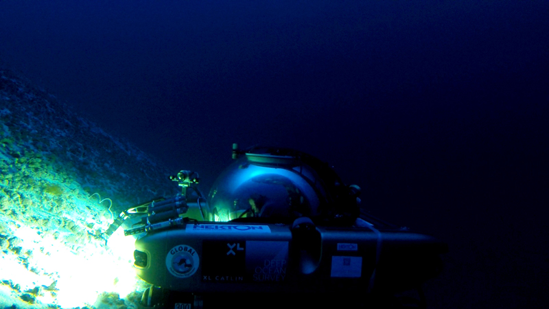 Submersible explores Argus Seamount
