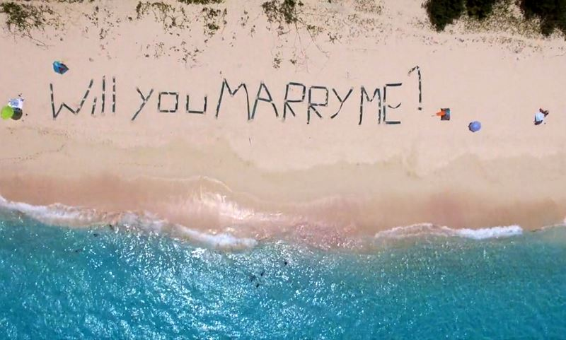 Marriage Proposal-Aerial Tour